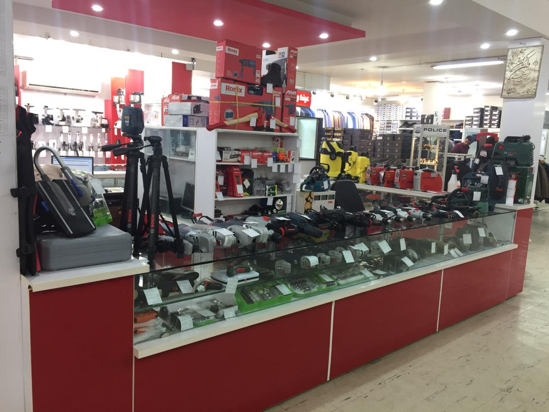 نمایندگی رسمی فروش ابزار آلات در فروشگاه مرکزی